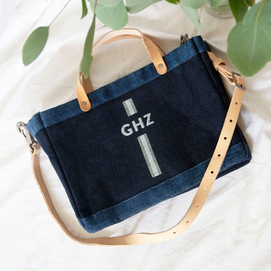 Customize Your Detachable Handle Dark Indigo Petite Bag– Sunday, January 5