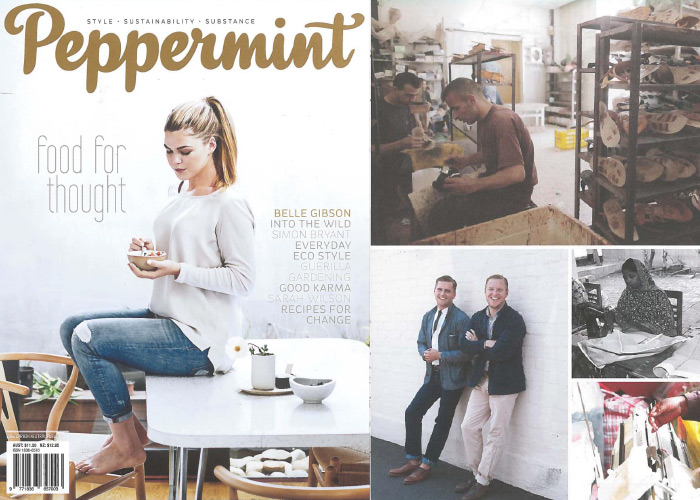 Peppermint Magazine - Spring 2014