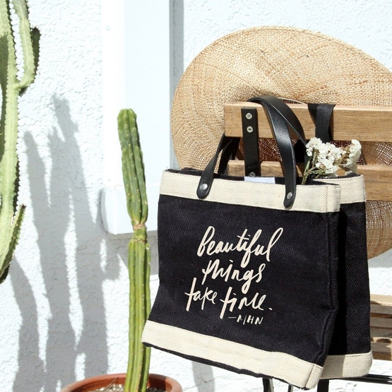 Collaboration: Apolis + Morgan H. Nichols Limited-Edition Market Bags, Oct 8 - 15