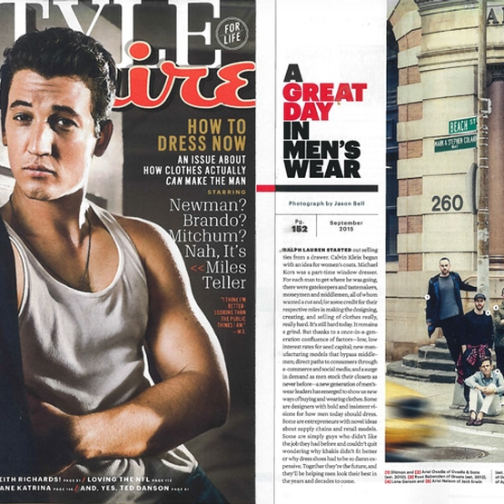 Esquire Magazine September 2015