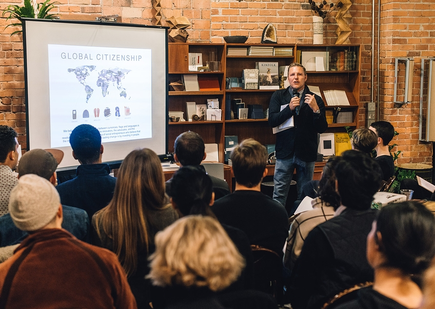 Event: Entrepreneurship Workshop by Apolis Co-Founders in Seattle